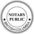 SEAL/41/NOTARY - Seal BC Notary Public
