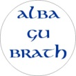 BTN/STK/ALBA - Alba Gu Brath Lapel Button