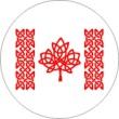 BTN/STK/FLAG - Celtic Flag Lapel Button